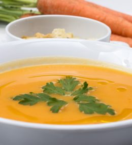 Fast Carrot Soup